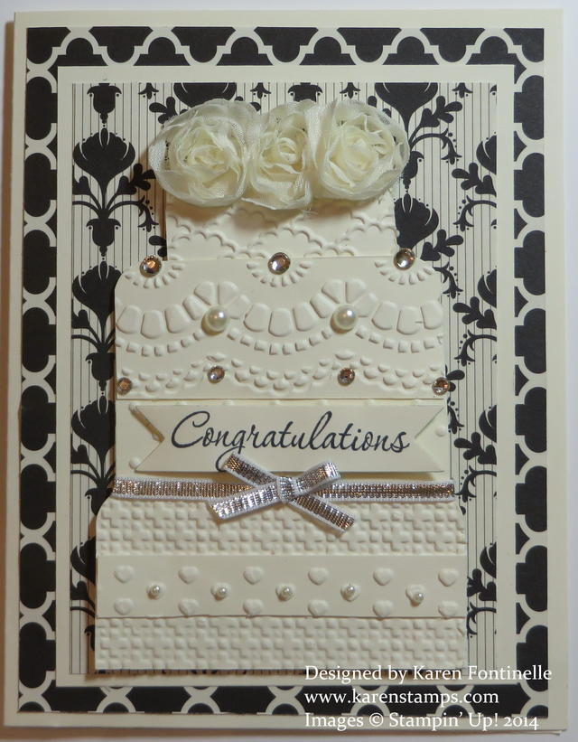 Kim and Kanye Wedding Card