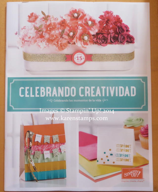 New Stampin' Up! Celebrando Creatividad Catalog 2014-15