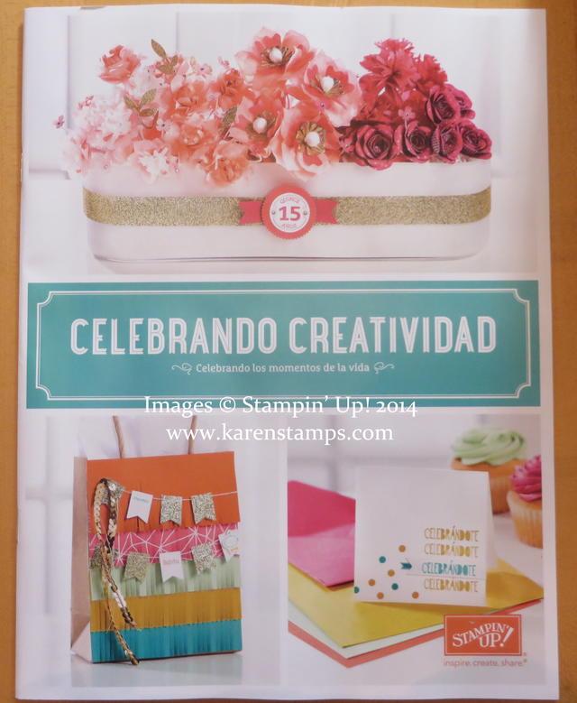 New Stampin' Up! Celebrando Creatividad Catalog 2014-15