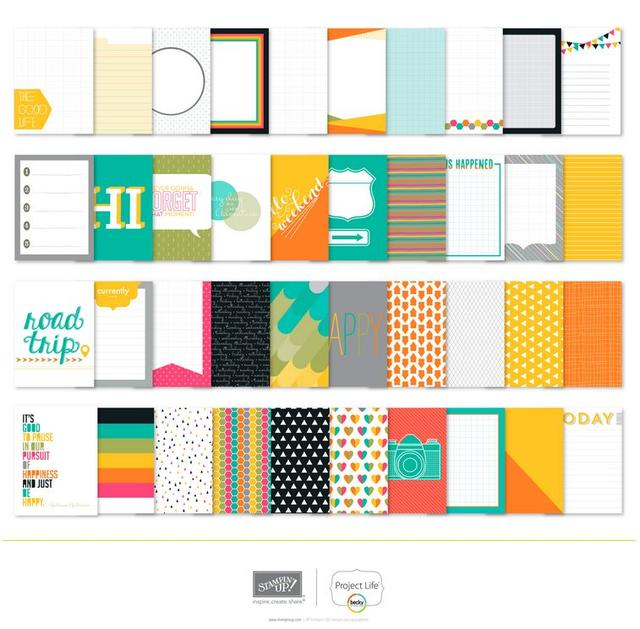 Stampin' Up! Project Life Digital Downloads