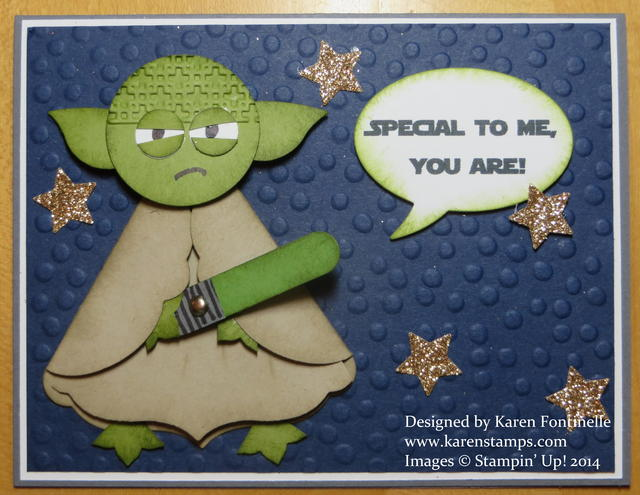 Star Wars Day Yoda Card
