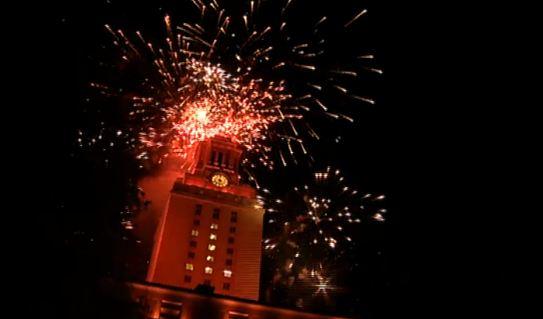 UT Fireworks 2014