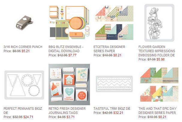 Stampin' Up! Weekly Deal May 13 2014