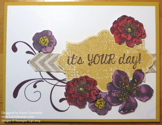 Everything Eleanor Blendabilities Flowers Card