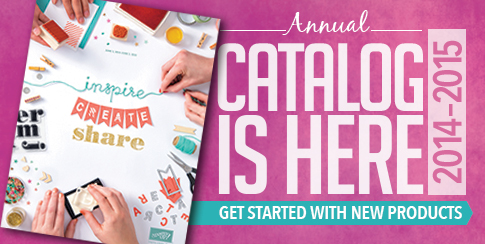 New Stampin' Up! 2014-15 Catalog is Here