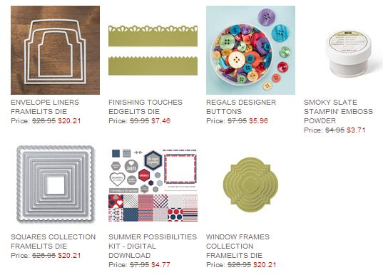 Stampin'' Up! Weekly Deal June 24 2014