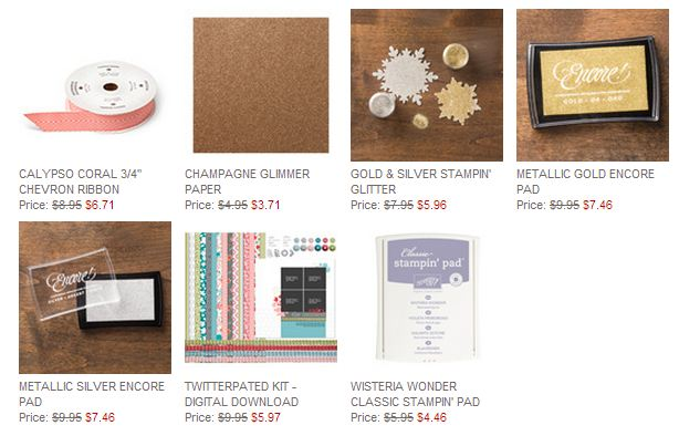 Stampin' Up! Weekly Deals June 3 2014