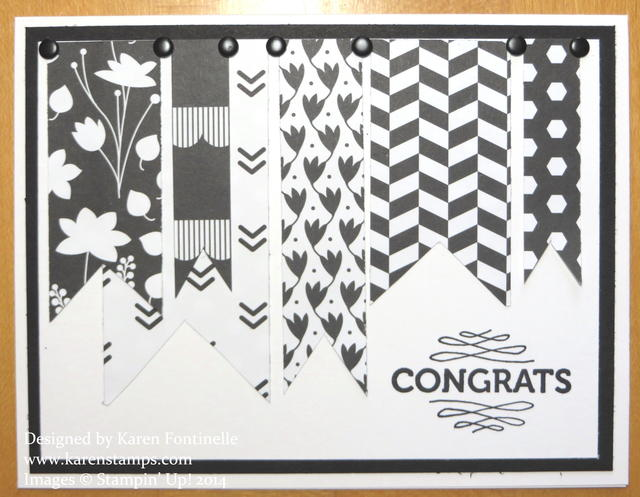 Back To Black Congratulations Card