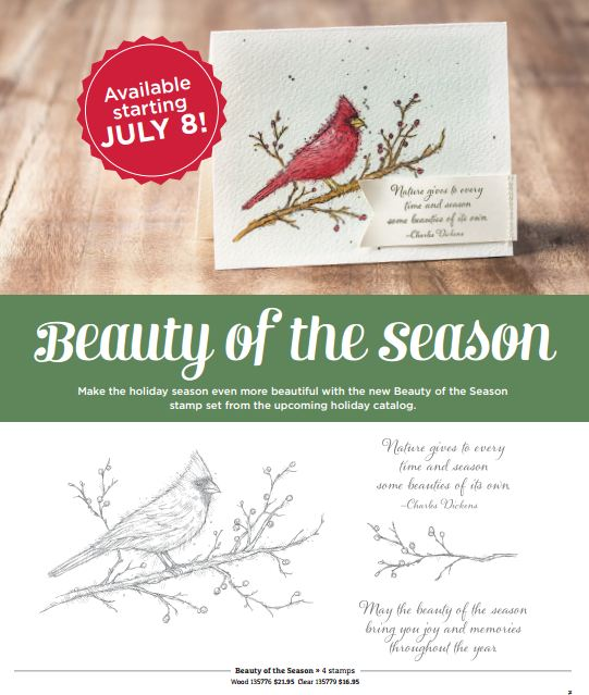 Beauty of the Season Stamp Set