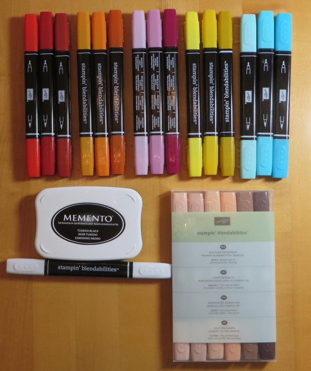 Stampin' Up! Blendabilities Markers & Memento Ink