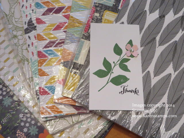 Card in Stampin' Up! Box