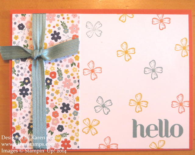 Flower Pot DSP Hello Card