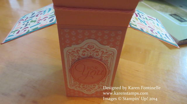 Pop Up Box Card 60th Birthday Front