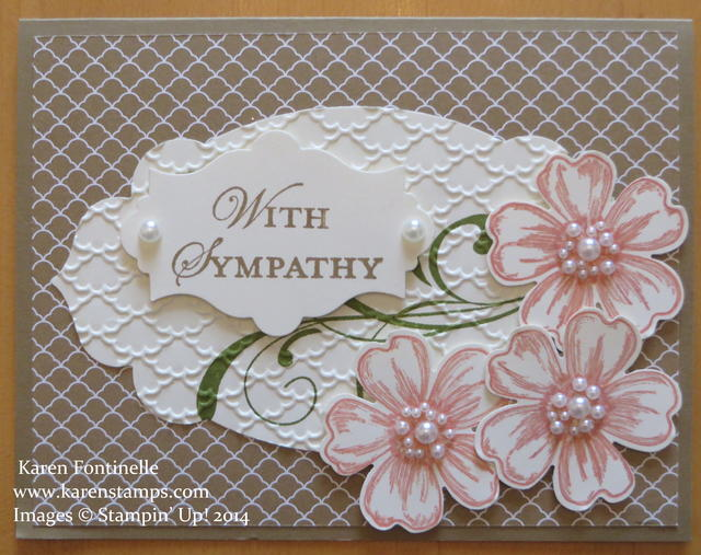 Sympathy Card Flower Shop Flowers