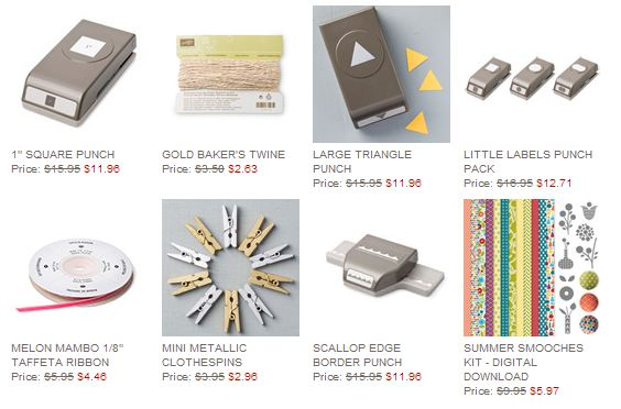 Stampin' Up! Weekly Deal July 15 2014
