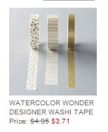 Stampin' Up! Weekly Deal July 29 2014 Washi Tape