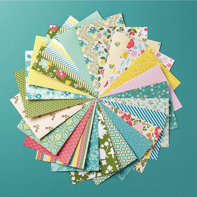 All Abloom Designer Series Paper Stack