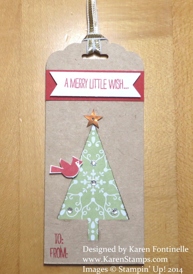 Festival of Trees Christmas Tag