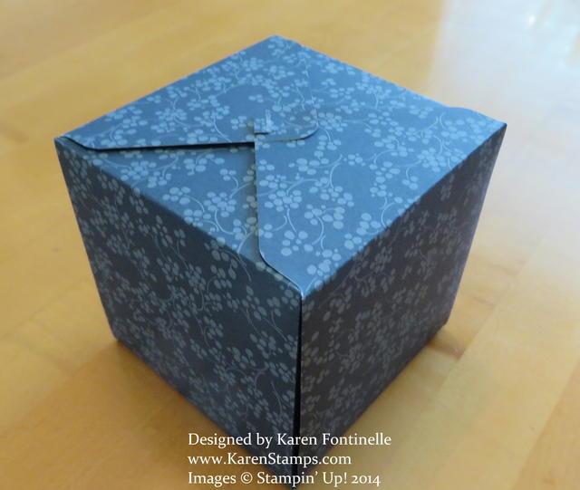Gift Box Punch Board Gift Box