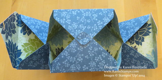 Gift Box Punch Board Gift Box Inside