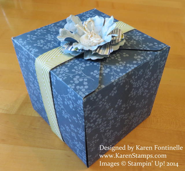 Gift Box Punch Board Gift Box Side
