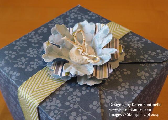 Gift Box Punch Board Gift Box Top