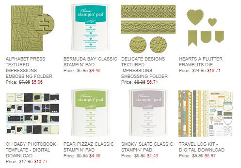 Stampin' Up! Weekly Deal Aug 5