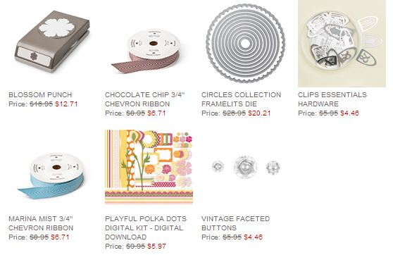 Stampin' Up! Weekly Deal August 26