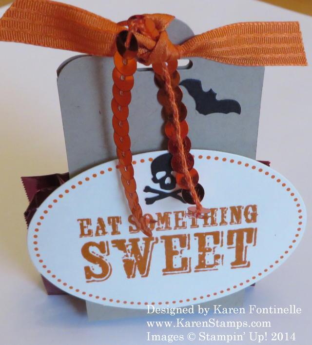 Alternate September Paper Pumpkin Kit Halloween Candy Treat