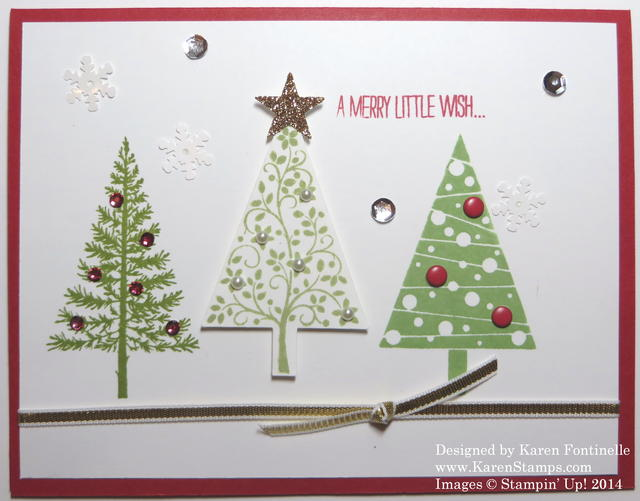 Festival of Trees Christmas Card
