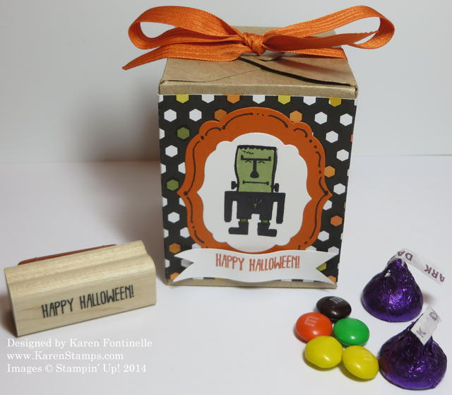 Freaky Friends Halloween Treat Box