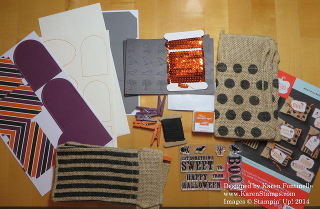 September Paper Pumpkin Kit Contents