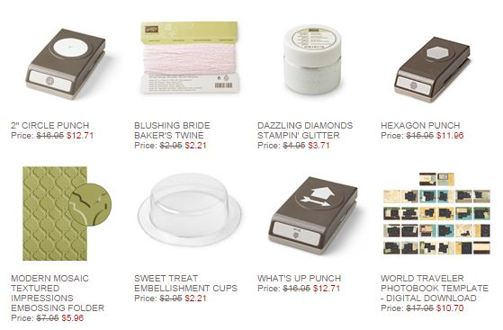 Stampin' Up! Weekly Deal Sept 9 2014
