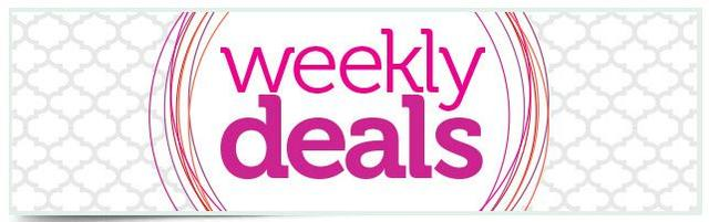 Stampin' Up! Weekly Deals Banner