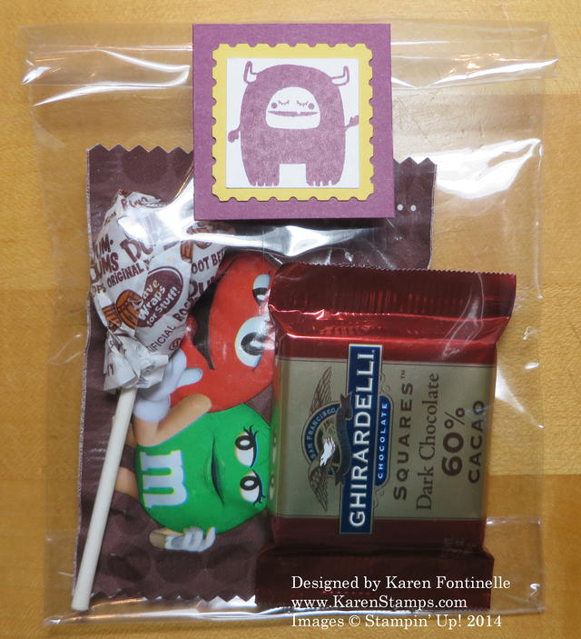 Freaky Friends Cello Halloween Treat Bag