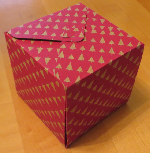 Gift Box Punch Board Box Plain