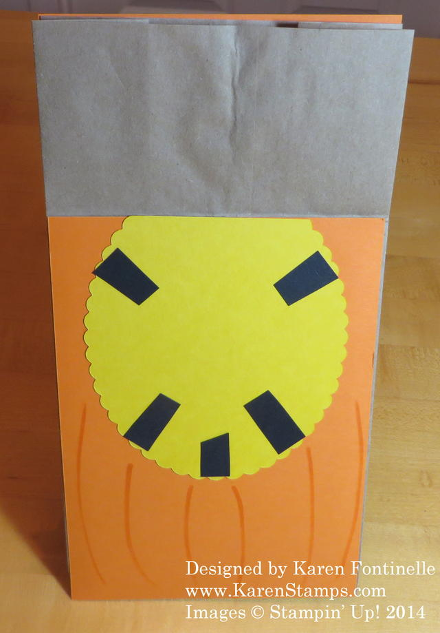 Halloween Bag open