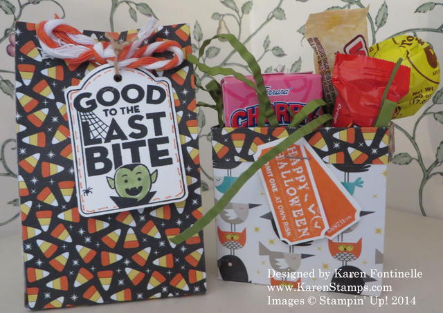 Motley Monsters Halloween Treat Bags