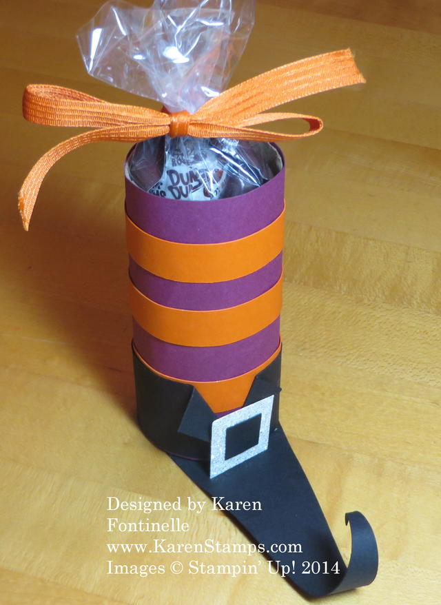 Halloween Witch's Boot Candy Treat