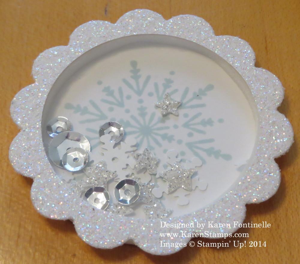 Shaker Frame Snowflake