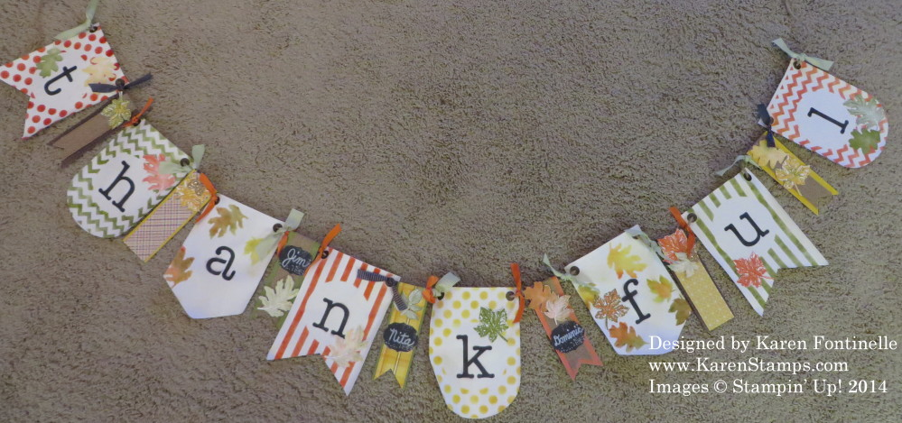 Simply Created Thankful Banner