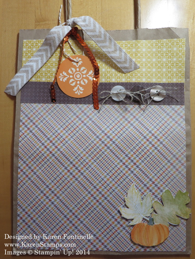 Sweater Weather Fall Gift Bag