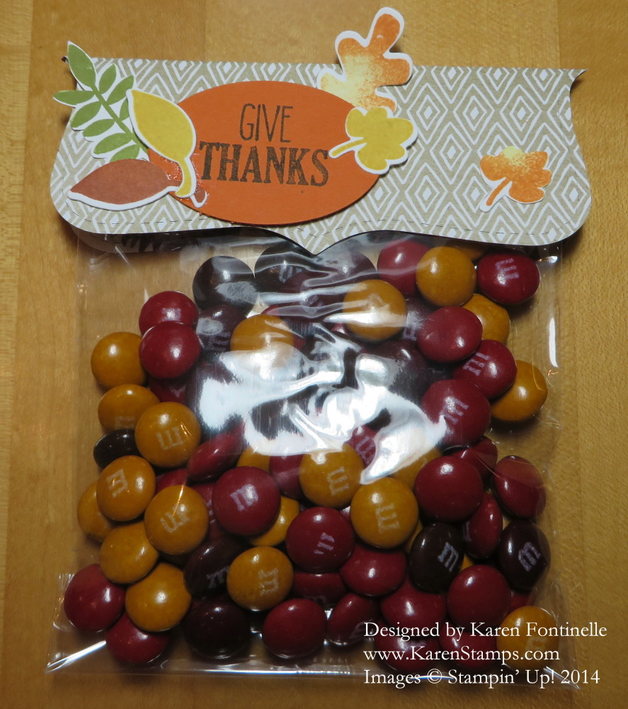 Top Note Thanksgiving Cello Bag Treat