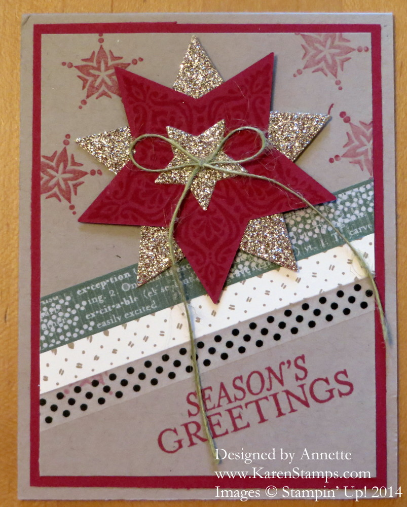 Bright & Beautiful Christmas Card
