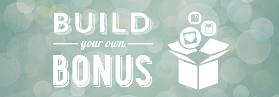 Build Your Own Bonus: Join Stampin' Up!