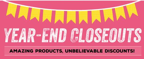 Stampin' Up! Clearance Rack Year End Closeouts