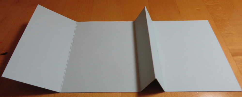Gift Card Holder Folds