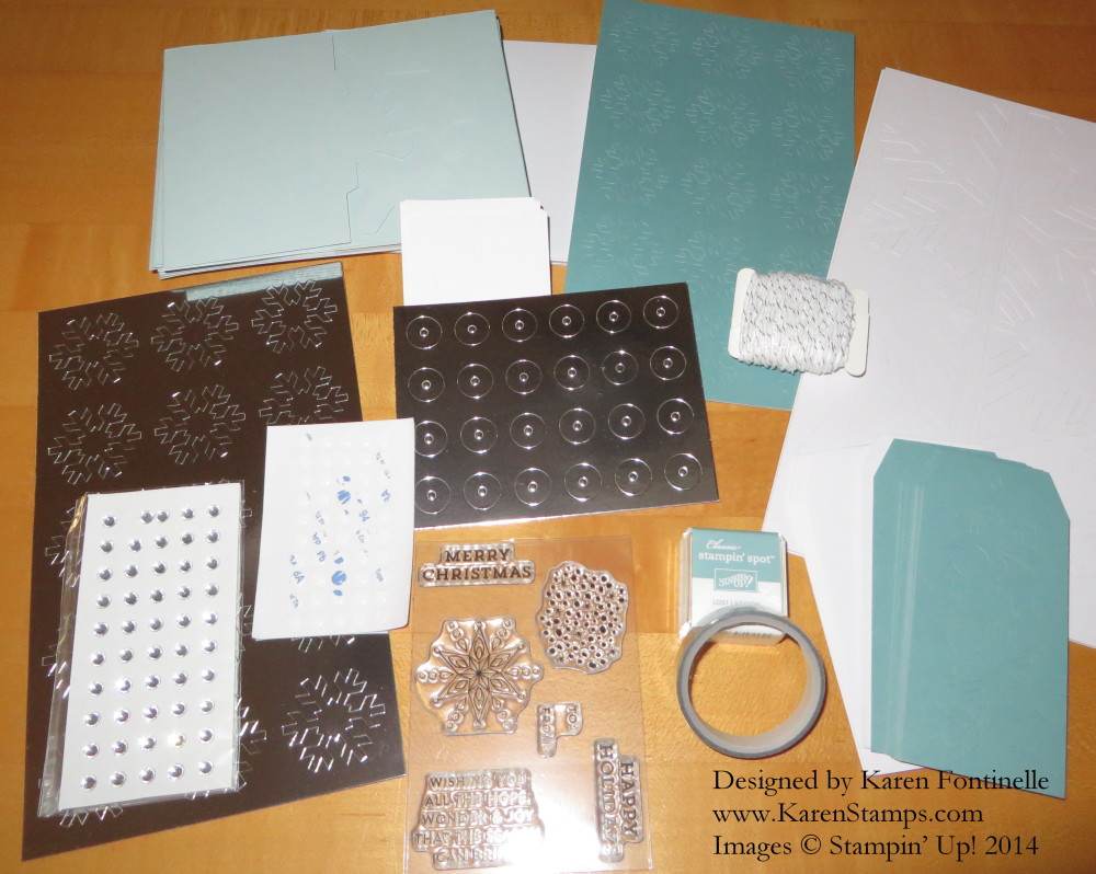 Paper Pumpkin Kit Contents Nov 2014