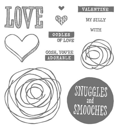 Snuggles and Smooches Stamp Set