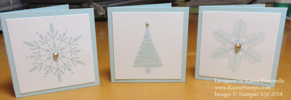 Tiny Christmas Tags